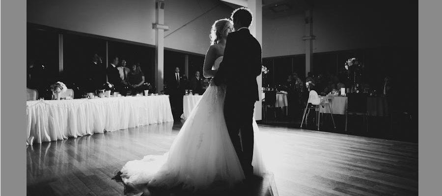 История любви в первом танце молодых