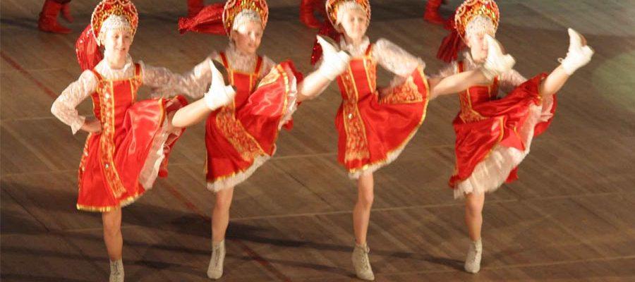 Народные танцы в школе танцев «Барвиха-денс»