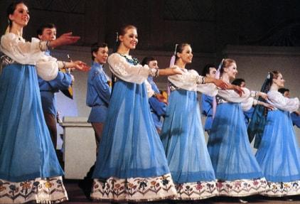 Народный танец Березка