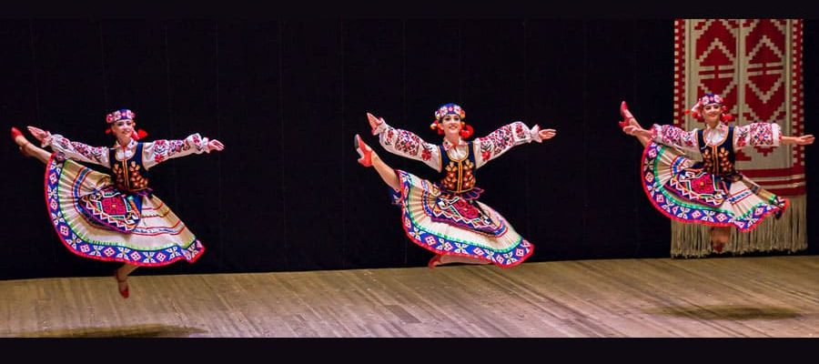 Основные элементы русского народного танца